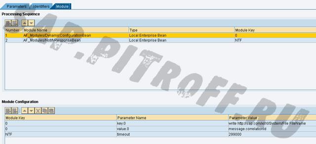 Рис.:12: Модули асинхронного файлового канала связи для ответа от целевой системы