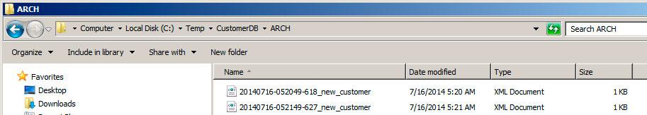 Рис.6: результат работы файлового адаптера SAP PI