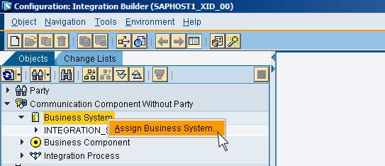 Рис. 4: импорт бизнес-систем из SLD
